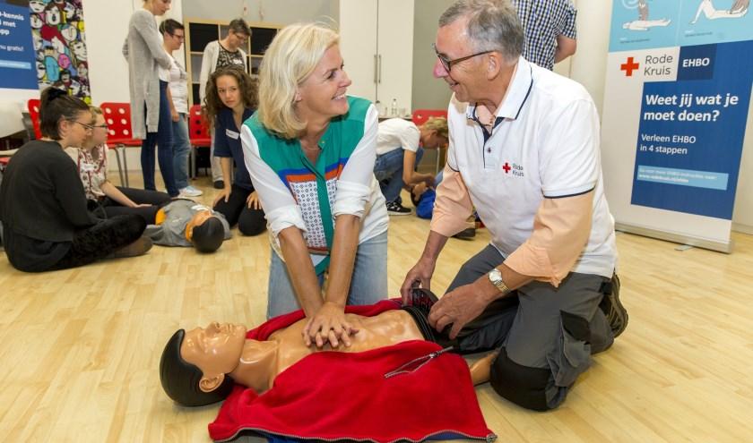 Nog Enkele Plekken Vrij Bij Ehbo Cursus Van Rode Kruis Het Kompas
