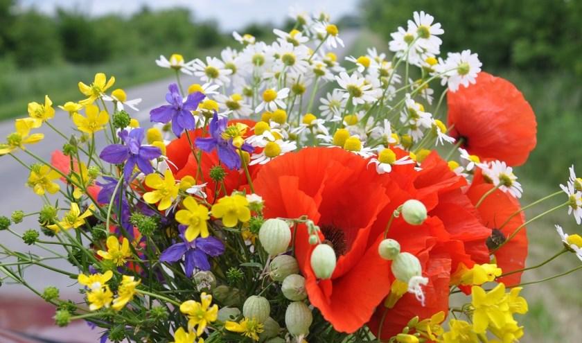 boeket wilde bloemen