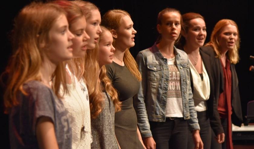 Het meidenpopkoor vanMuziekschool Rijssen houdt op woensdag 9 oktober om19.30 uur een open repetitie.
