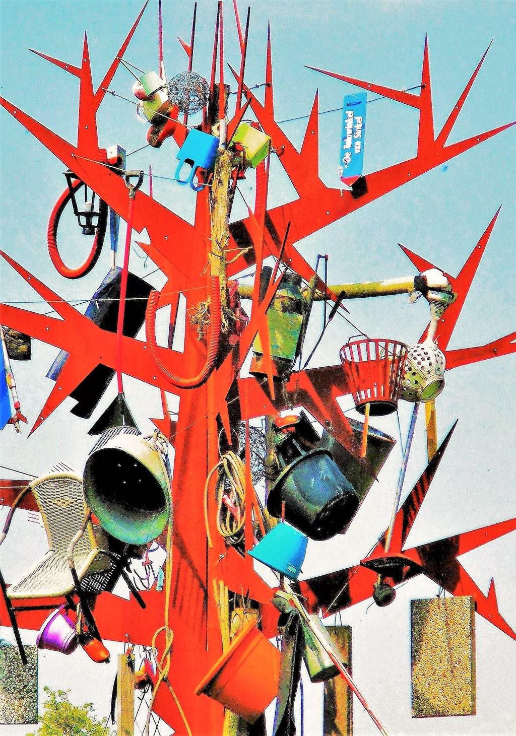 Een van de geëxposeerde werken Foto: Paulo Branco © DPG Media