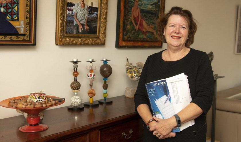 Meer tijd voor creativiteit voor Wilma De Wit. Binnenkort verlaat zij vanwege haar pensioen het onderwijs. (foto: Jimmy Israël)