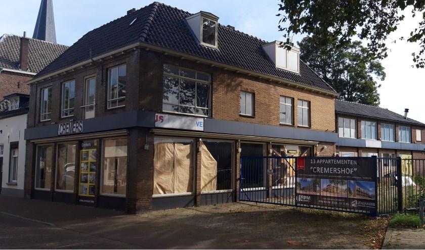 Sinds 27 juni 2017 staat het voormalige pand van Hubo Cremers leeg. (foto: Danny van der Kracht)