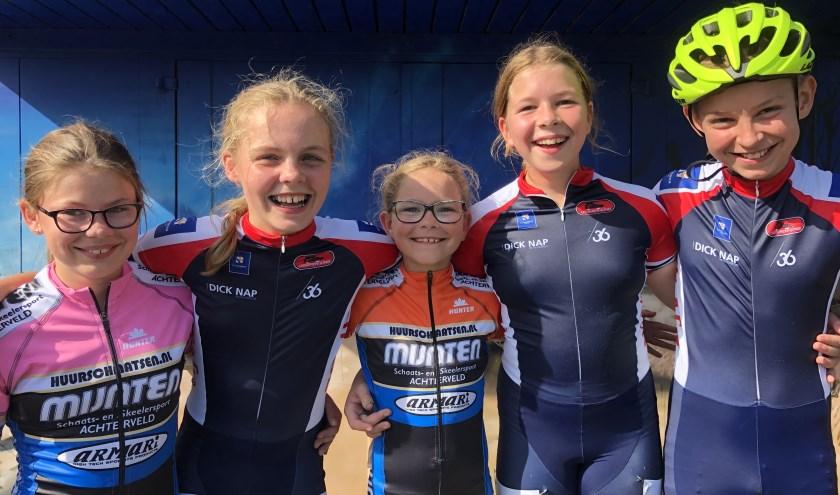 De pupillen hadden veel plezier bij de finale van de Dave van Dam Inline-Cup. (foto: Martine Meijer)