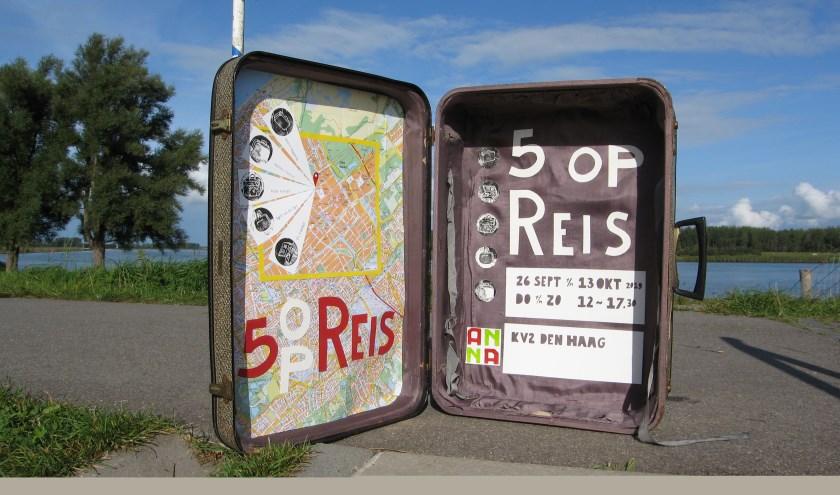 Vijf Hoeksche Waardse kunstenaars hebben elkaar gevonden voor een groepsexpositie. (Foto: Privé)