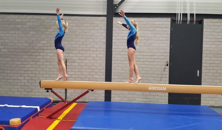 Actiefoto van de gymles van DGV