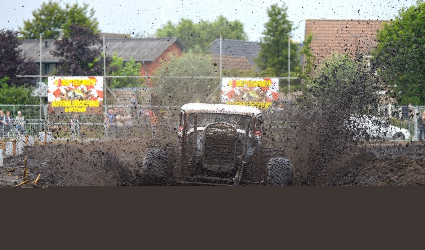 Niet mee aan de Maalderijstraat in het dorp, maar op de vernieuwde evenementenlocatie aan de Berkenstraat: Autoblubbering!