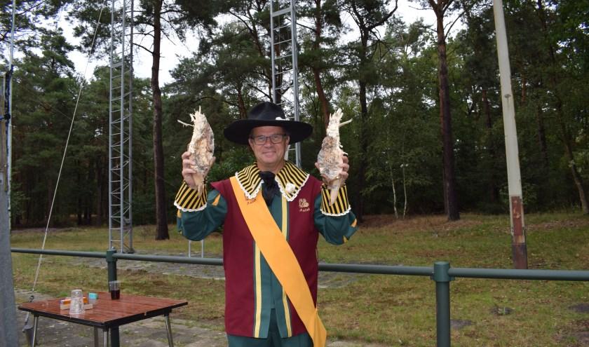 Rob Singels is de nieuwe Koning van het St. Antonius & St. Catharina Gilde Aalst .