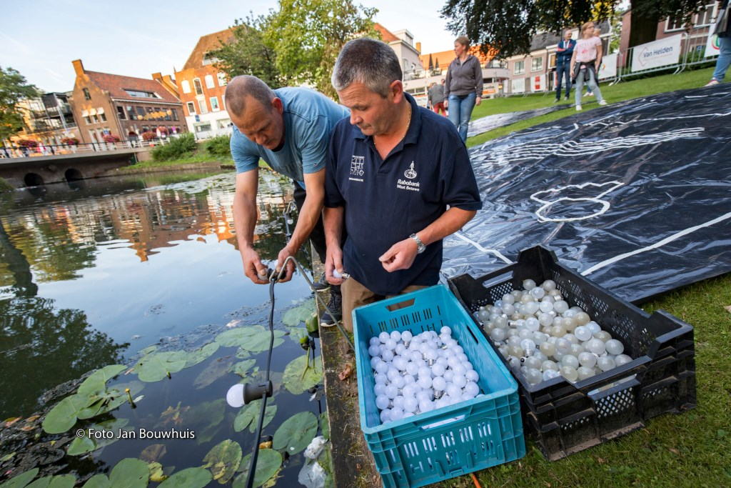 Alle lampen worden vervangen door ledlampen. Foto: Jan Bouwhuis © DPG Media