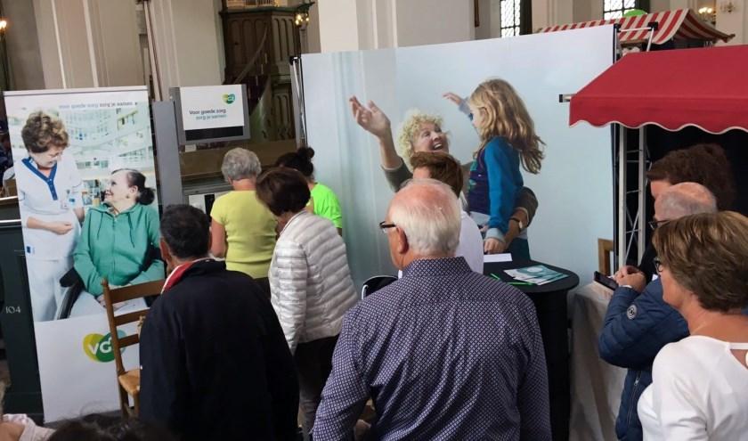 Tijdens het evenement kunnen bezoekers testen en metingen laten doen. (Foto: Privé)