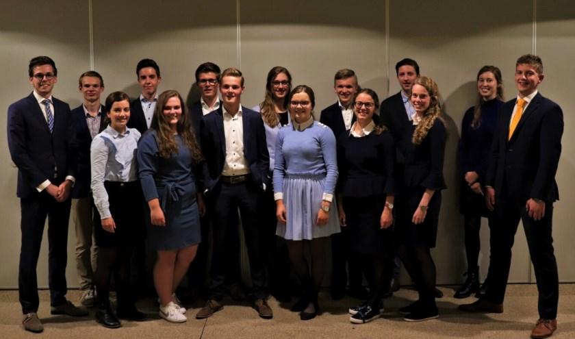 De SGP-Jongeren-commissie Alblasserdam-Papendrecht. (Foto: pr)