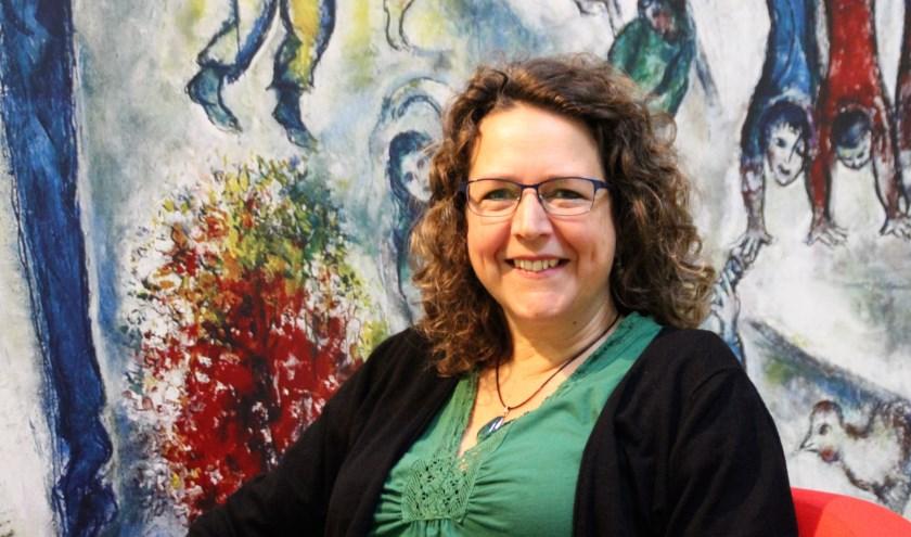 Marit Hofman verlaat het Servicepunt Vrijwilligers en gaat zich inzetten voor  Present en haar eigen bedrijf als coach. (Foto: Dick Baas)