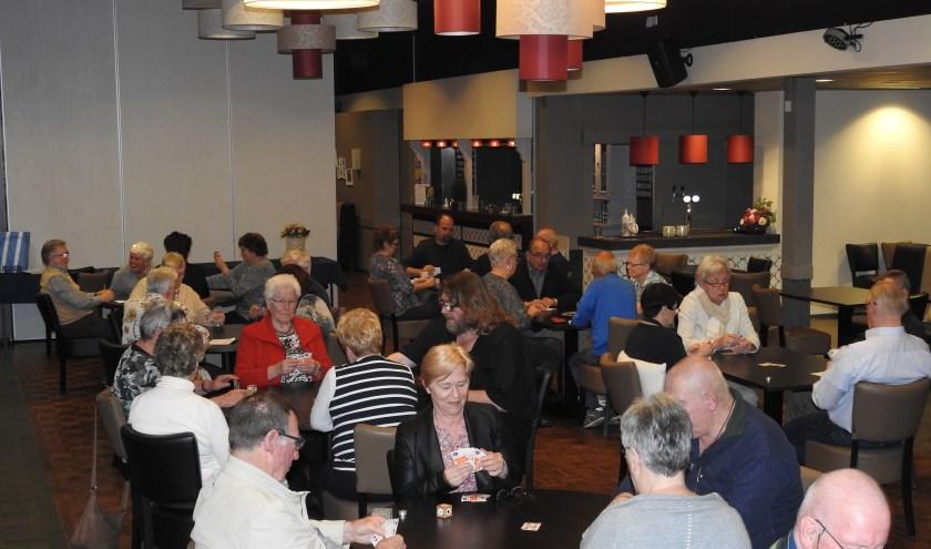 Zaterdag 8 februari houdt klaverjasgezelschap De Kaal'e Boer weer haar tweejaarlijkse toernooi. (foto: Peter Beekman)