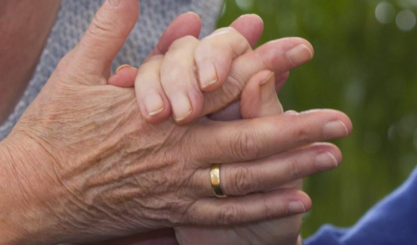 Verzorgende handen