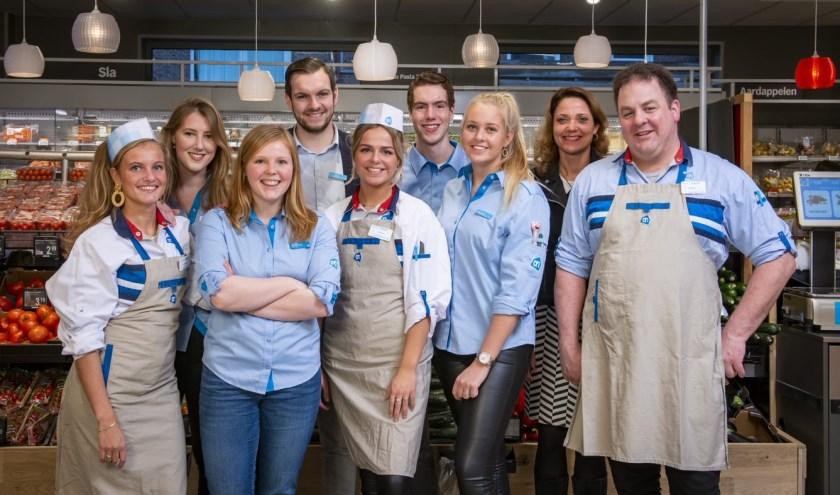 Het team van Albert Heijn Buurstede. (Foto: Albert Heijn/Dirk Brand)