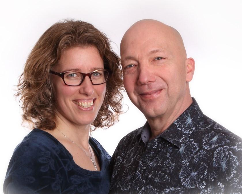 Mirjam Verschure en Peter Groenewegen.