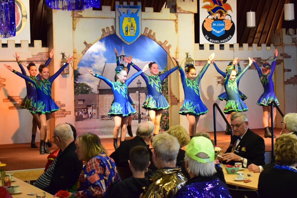 De dansmarietjes zullen acte de présence geven.   © DPG Media