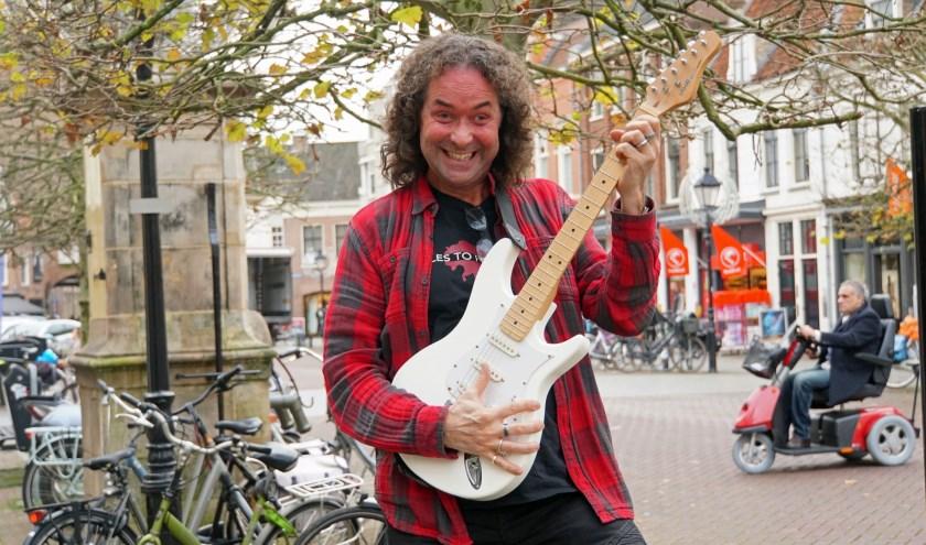 John van Empel heeft er zin in.foto Jan Woldberg
