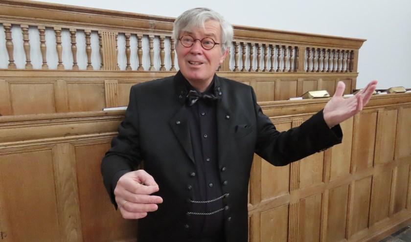 Het concert staat onder algehele leiding van dirigent  Piet C. den Uil. (Foto: pr)