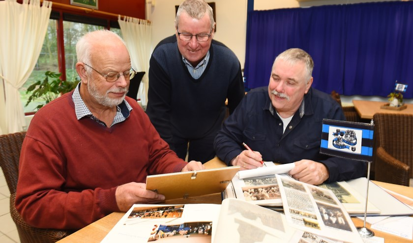 Jos Heutinck, Bart Stevens en Martin Booiman. (foto: Roel Kleinpenning)