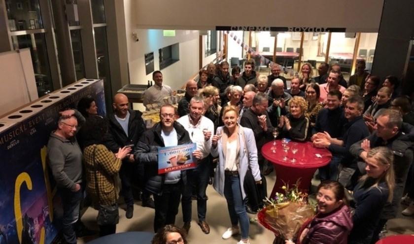 Johan Wittekoek uit Ridderkerk was de gelukkige. (Foto: Privé)
