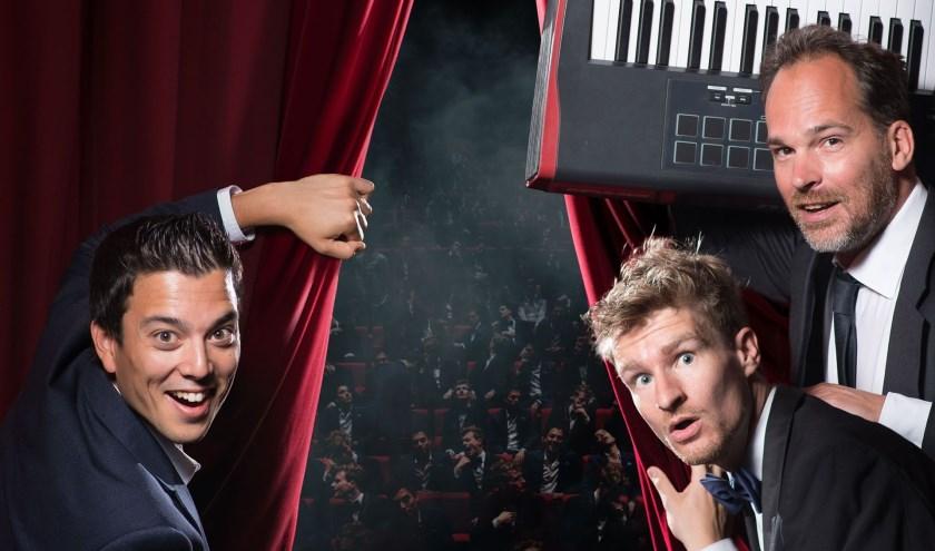 Van hilarische sketches en acrobatische hoogstandjes tot volledig geïmproviseerde musicalnummers: Stefan Hendrikx en Andries Tunru doen het moeiteloos.