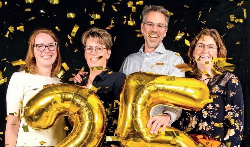 Bente van Essen, Jolanda Berghorst, Arnold Berghorst en Sabine Krooneman (v.l.n.r.). (Foto: Comceptum Media Makers)