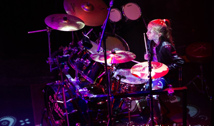 Leerlingenpresentatie drumschool Ralph