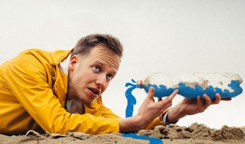 Op 25 januari komt Bram van Beusekom naar de bibliotheek in Best. Hij speelt de voorstelling 'Weer te leuk' voor kinderen vanaf twee jaar.