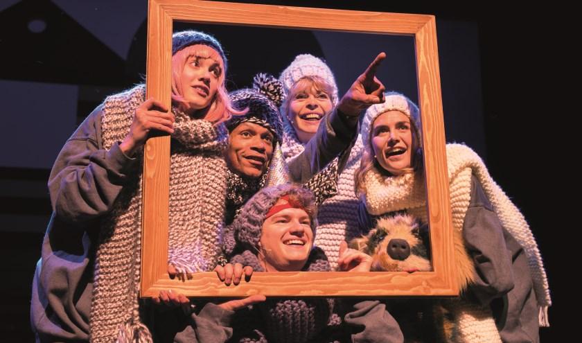 Theatergroep Kwatta speelt op 25 januari de familievoorstelling 'De Familie van Nielie in Alle Staten. Kaarten kosten slechts 5 euro. (Foto: Laura Luca)
