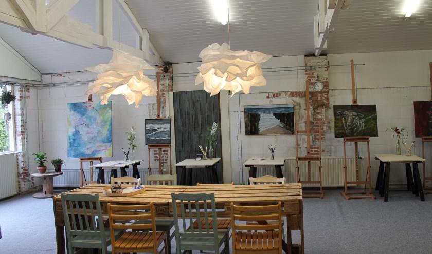 Atelier Artistique is gevestigd aan de Rul 22 in Heeze.