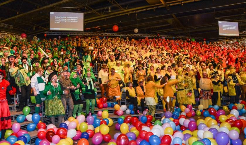 Op vrijdagavond 21 februaristart de finale van het Songfestival in het Van der Valk Hotel Eindhoven. (Foto: Peter Tops - Topspotting).
