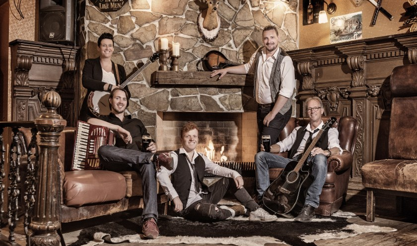 De Achterhoekse folkband Lads 'n Lassies