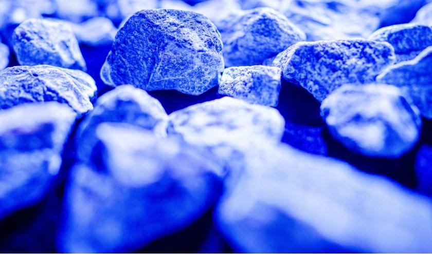 De 104.000 stenen van het tijdelijk kunstwerk Levenslicht zijn allemaal anders.
