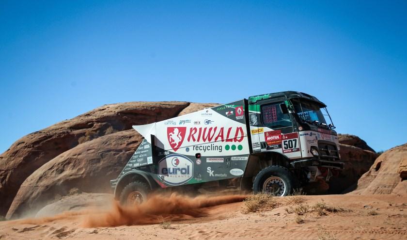 Vooralsnog gaat het Riwald Dakar team uitstekend door de woestijn