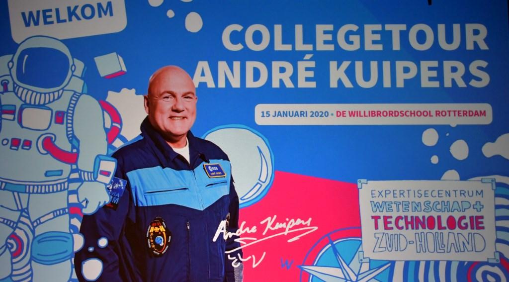 Collegetour Andre Kuipers Foto: Pim Geurts © DPG Media