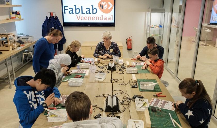 Workshop Lichtmachine maken