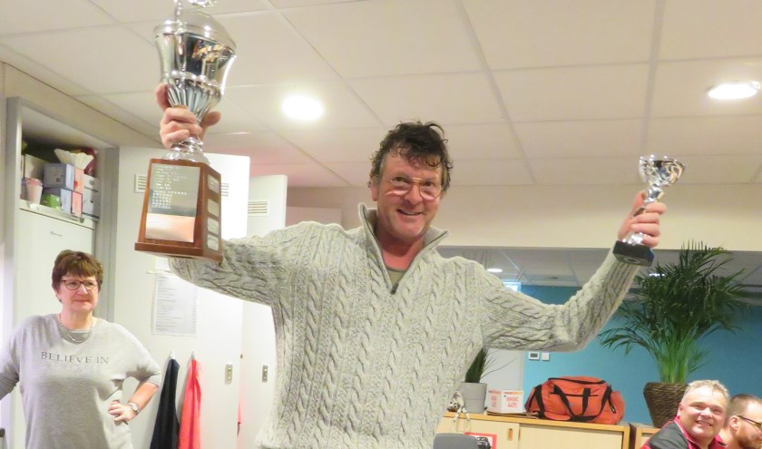 Clubkampioen Bert Rademaker