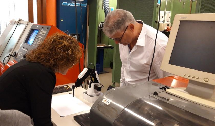 De burgemeester van Oirschot opende het vernieuwde techniekplein afgelopen vrijdag.