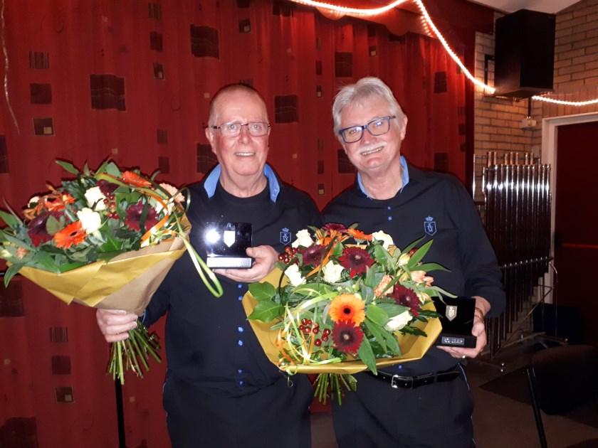 De jubilarissen van de KTVM. (foto: Richard Hulshof)