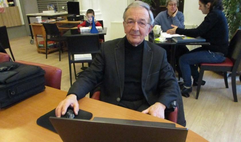 Richard van Assouw is coördinator van de belastinghulp van KBO Kring Tilburg.