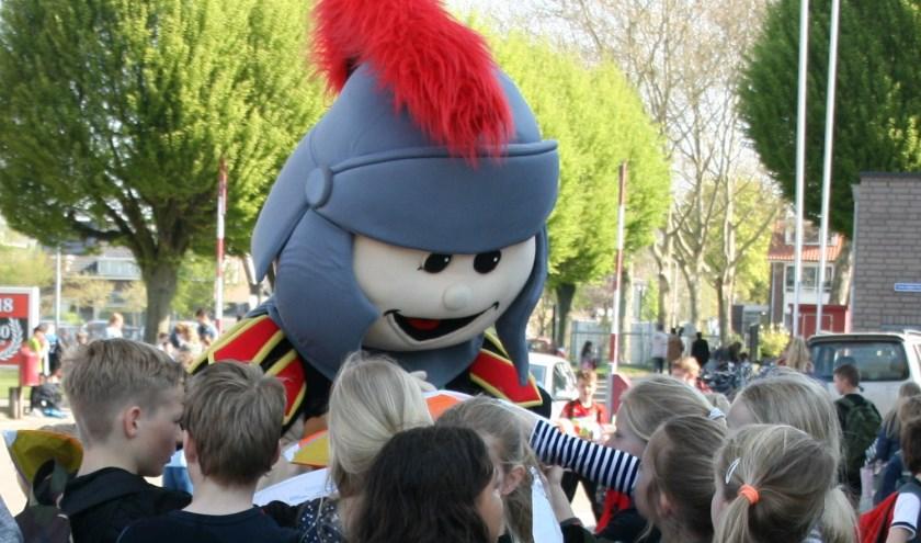 N.E.C. mascotte Bikkel