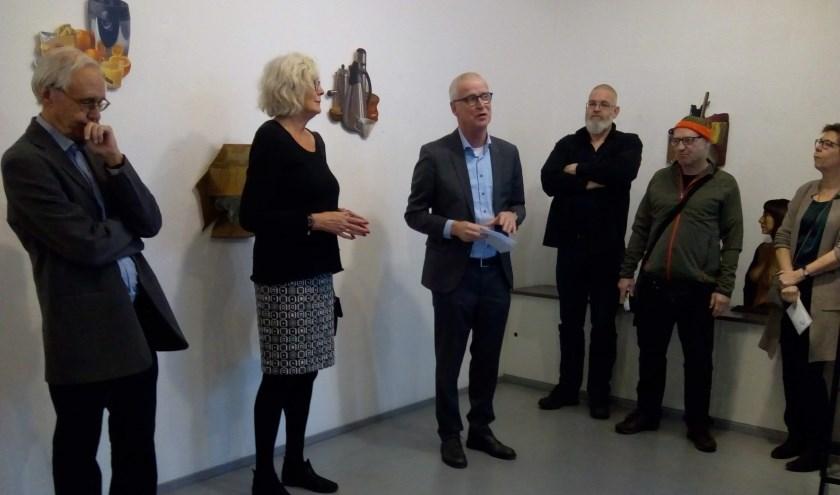 Voorzitter Alfons Hams blikt terug en vooruit. Foto: Audrey Wagtberg Hansen.