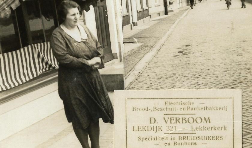 Voorstraat 92. Foto en informatie van de familie Verboom.