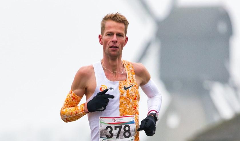 De winnaar bij de mannen, Roy Hoornweg. (Foto: Eagle Fotografie)