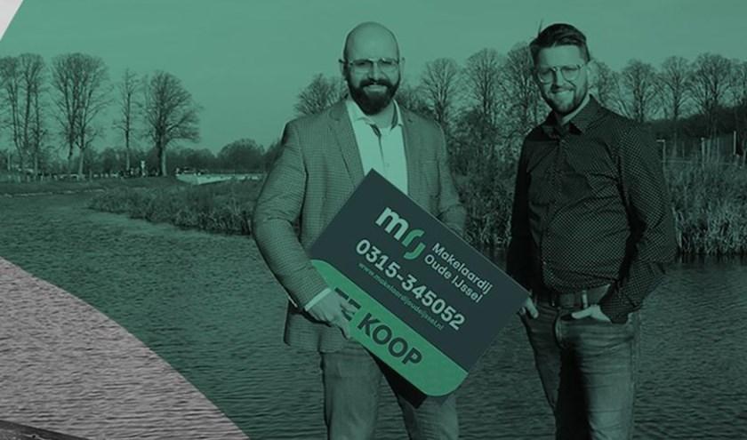 Riccardo Willemsen en Niek Rauwers. Foto: Nijosca Wijnands