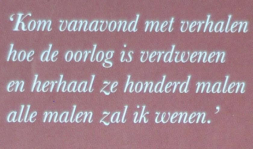 Gedichtenverhalenwedstrijd 75 Jaar Vrijheid In De Hoeksche