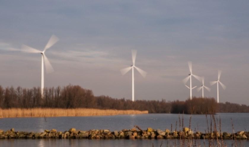 Windturbines. (foto: Marijke Haak)