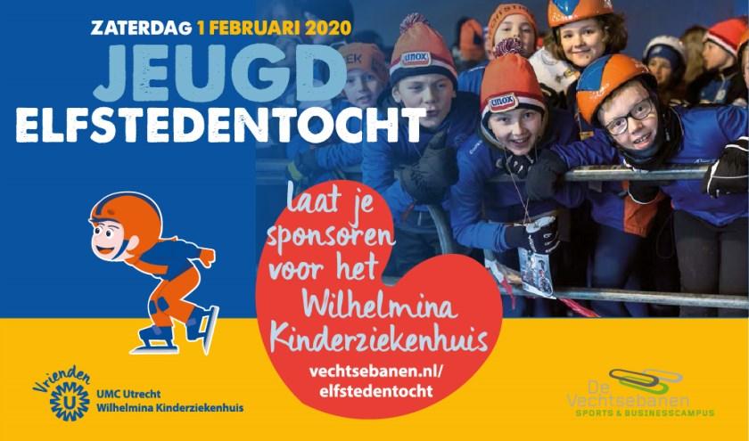 De Vechtsebanen tovert deschaatsbaan om in een Fries landschap en bootst de echte Elfstedentocht zo goed mogelijk na.