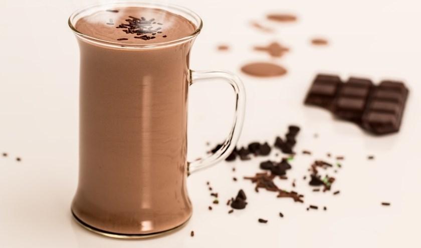 Bij de Beweeg- en Ontmoetingstuin wordt het nieuwe jaar gevierd met chocolademelk. (foto: Pixabay)