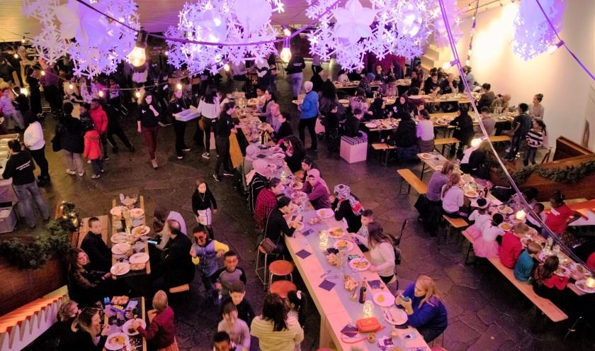 Veel mensen bezochten in de kerstvakantie Jeugdtheater Hofplein.